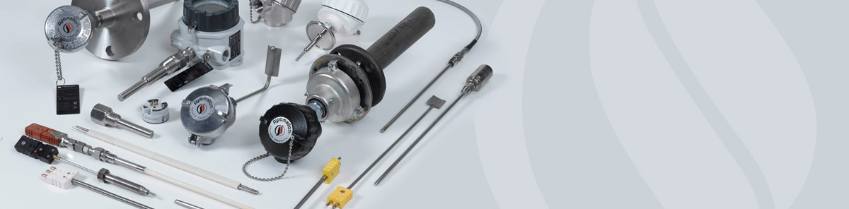 RTDs, Temperature Sensors, Thermowells and Thermocouples - Assorted Products Manufactured by Pyromation
